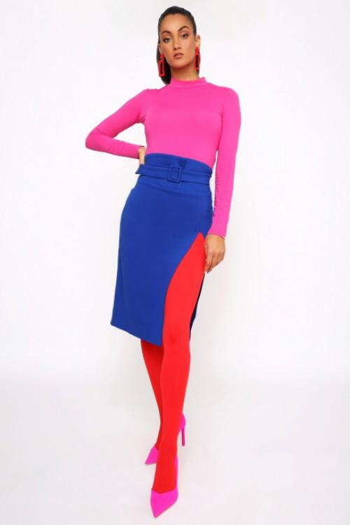 Amnesia MAZARO sukňa s opaskom